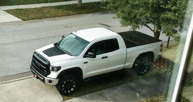 Black And White Themed 1794 Toyota Tundra Forum