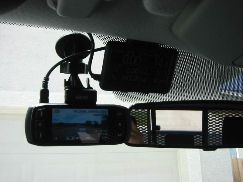 how to set up a dashcam using a webcam