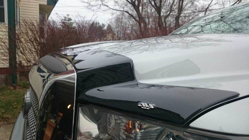 AVS aeroskin bug shield and AVS ventvisors pics | Toyota ...