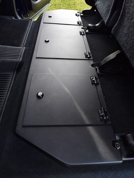 storage seat accessories under truck esp tundra toyota crewmax unit rear tacoma units metal forum 2005 attachments