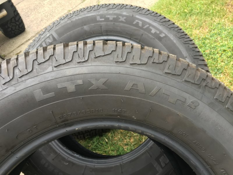 Magnum Rt Steps >> For sale:Michelin LTX A/T2 tires-SOLD | Toyota Tundra Forum