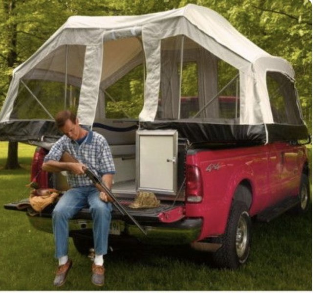 Full Size Truck Bed Tent