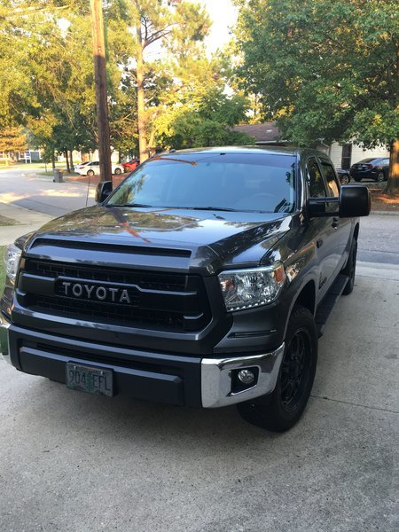 Painting Chrome Grill Toyota Tundra Forum