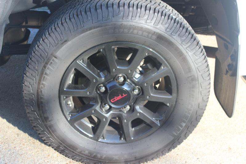 Toyota Virginia Beach >> TRD Pro wheels and tires-SOLD | Toyota Tundra Forum