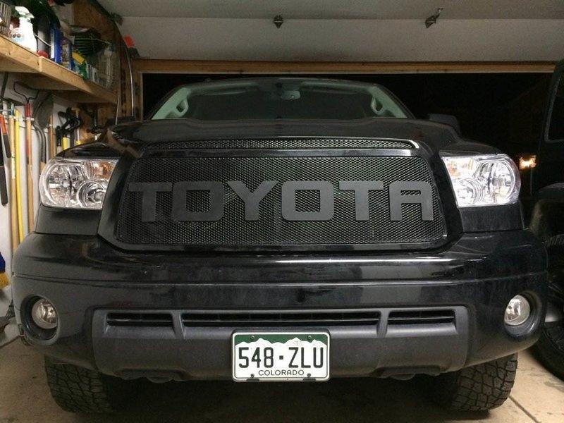 Diy Toyota Raptor Lettering Install For 2nd Gen Tundra