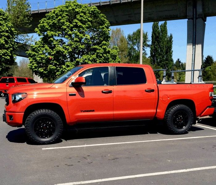largest tires for stock trd pro toyota tundra forum. Black Bedroom Furniture Sets. Home Design Ideas