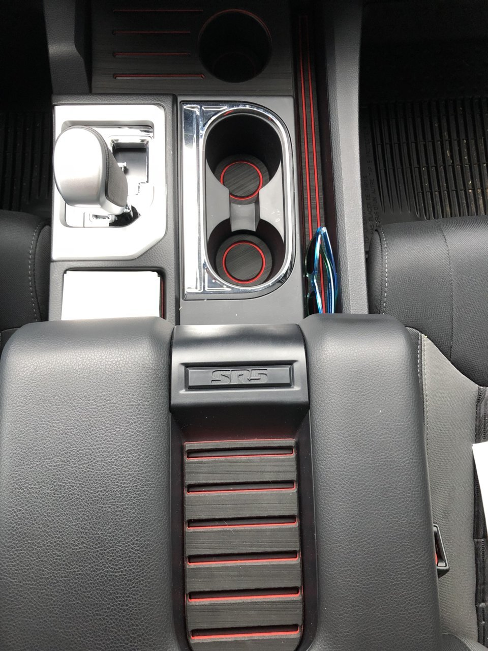 @tufskinz interior cup holder foam inserts. (76770E33-B3B3 ...